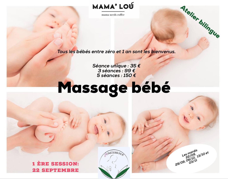 Atelier Parents pour apprendre à masser son bébé