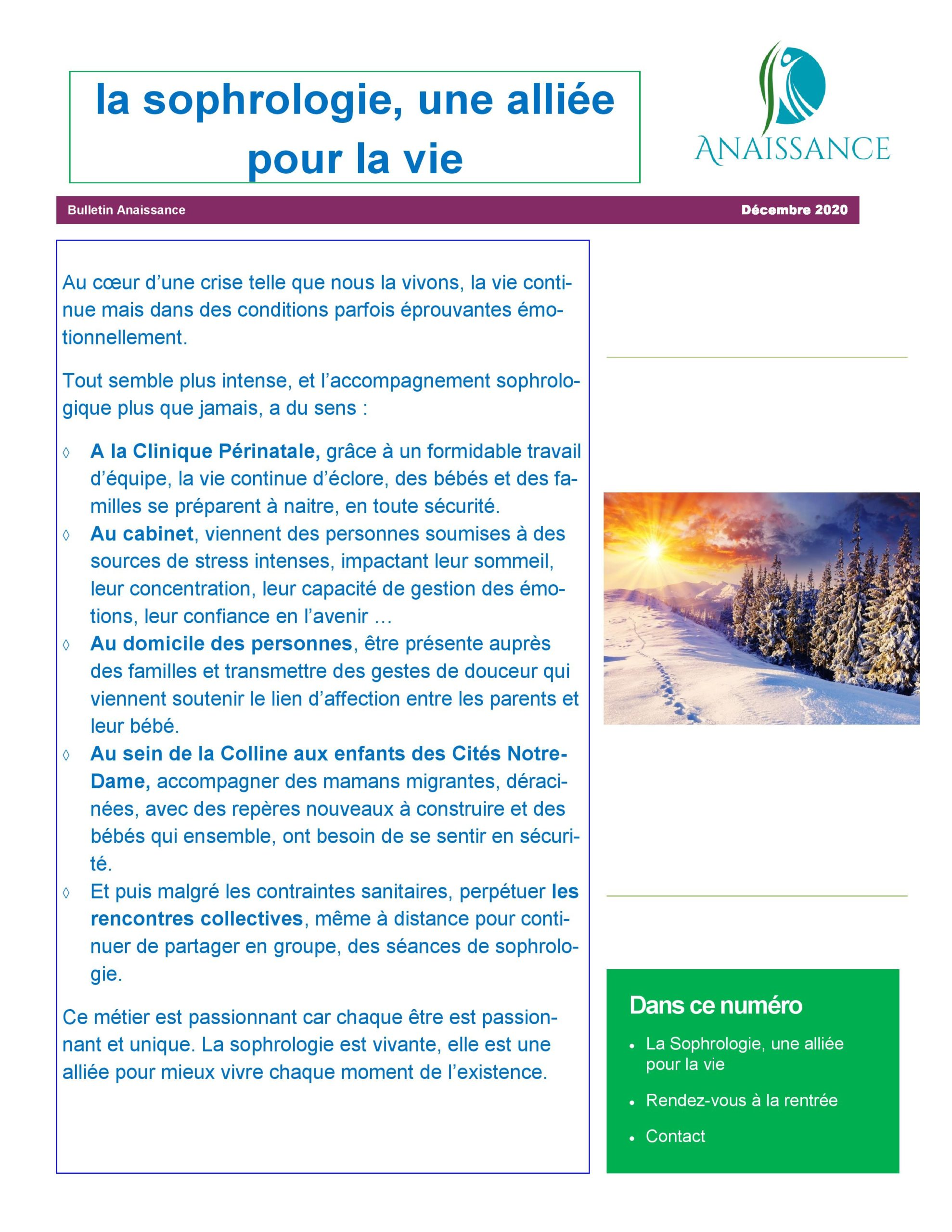 Newsletter Decembre 2020 page 001